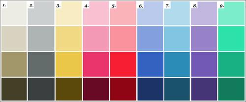 про цветовые ряды