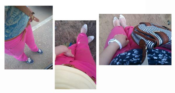 про розовые джинсы