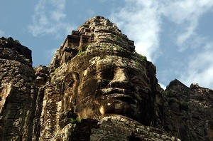 Angkor Thom - South Gate´s Smiling Stone Faces 2
