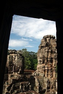 The Bayon - Framed with Door