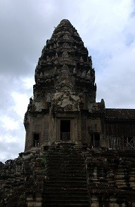 Angkor Wat - One of the Five Towers, Mount Meru