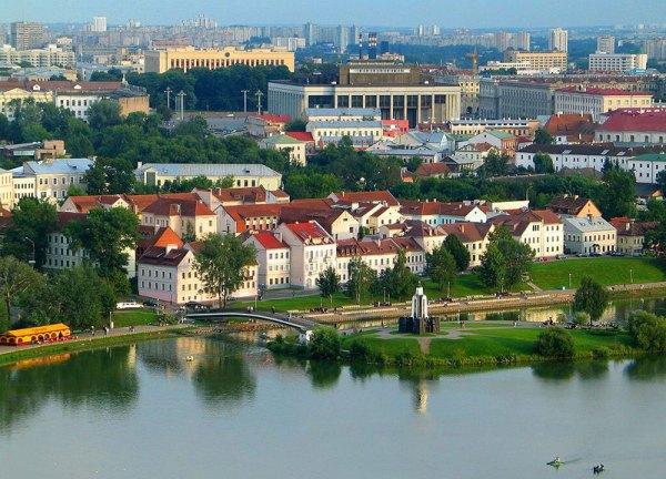 Минск Троицкое предместье Верхний город