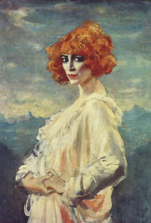 Рубенсовская женщина и молодчик