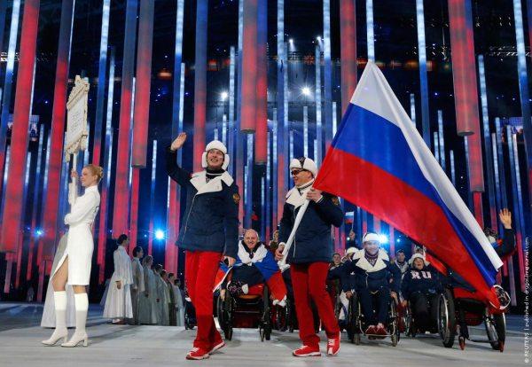 Открытие Паралимпийских Игр в Сочи 2014 ФОТО - Журнал Другого