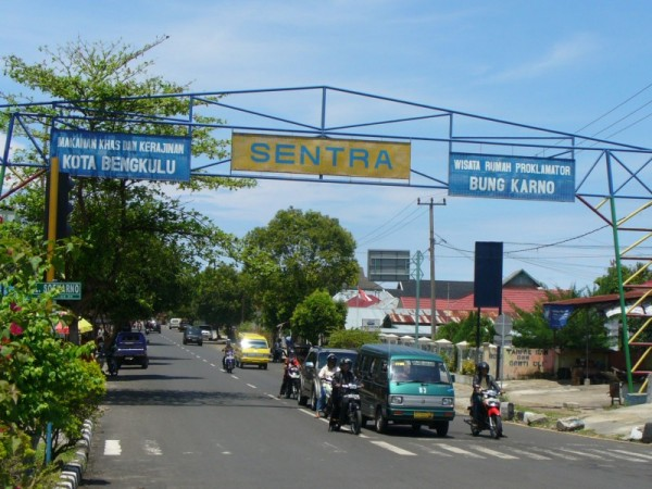 Jalan di Bengkulu