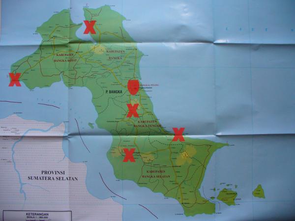 Peta-Bangka