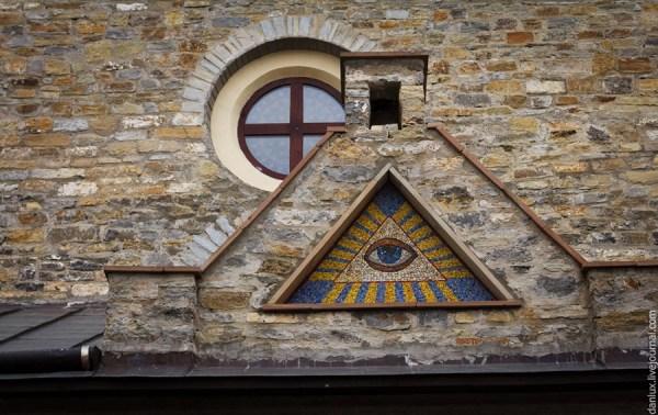Всевидящее око . Пирамида с глазом : handemade_ilia ...