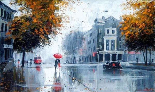 Зонт Под Дождем Картинки