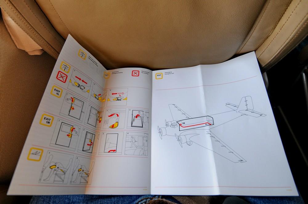 Инструкция по безопасности немецкого Ju-52
