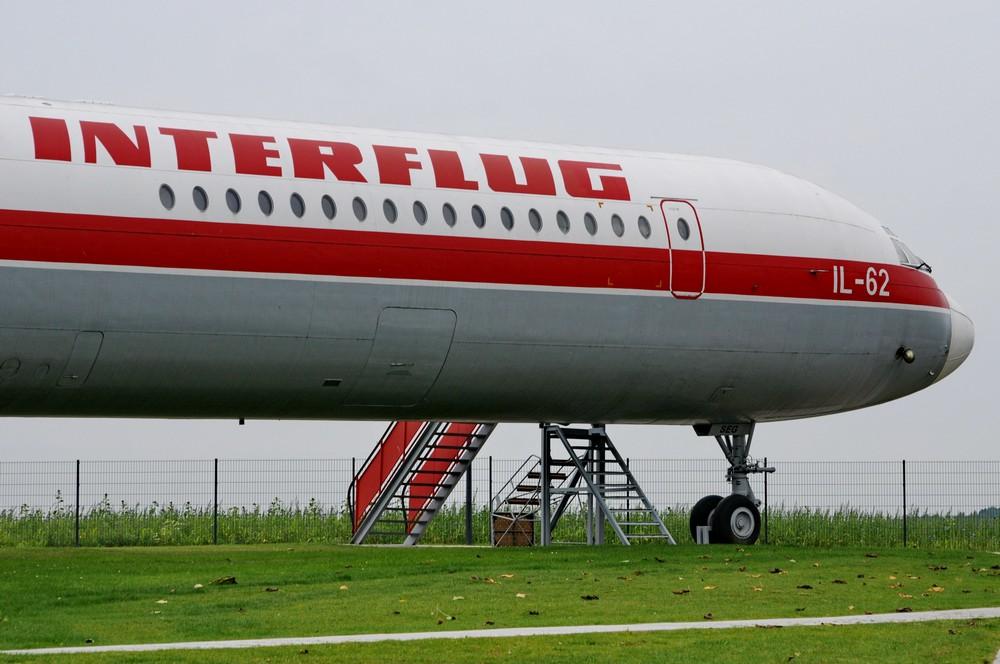 Ил-62 авиакомпании Интерфлюг