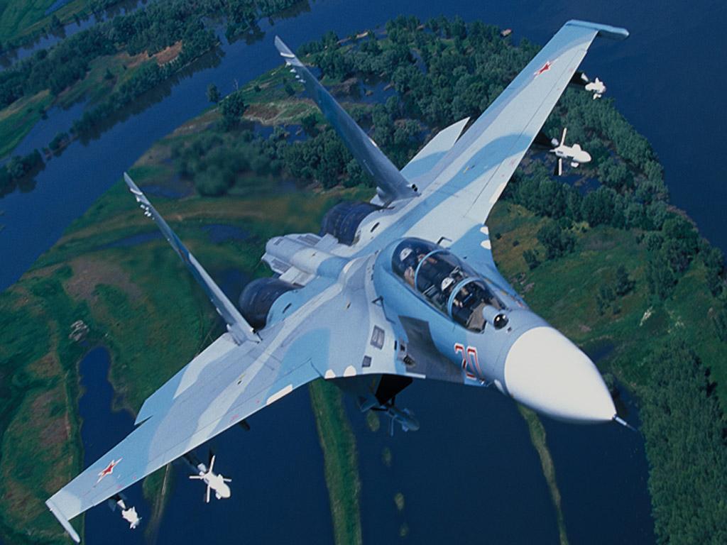 Обои многофункциональный истребитель поколения 4 плюс, глубоко модернизированный, плюс, сверхманевренный. Авиация foto 9