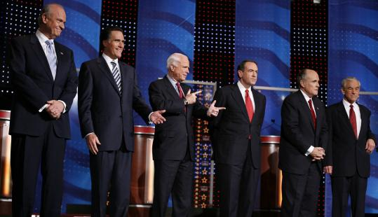 Past Campaigns: The 2008 Republican Party Race ...