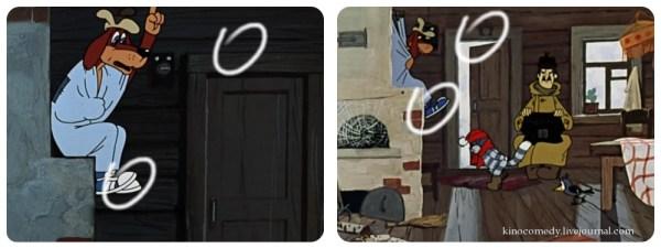171Зима в Простоквашино187 киноляпы kinocomedy