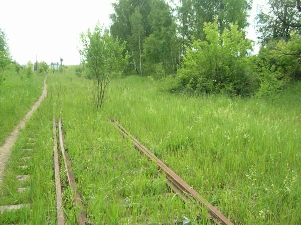 Железнодорожная линия Бутылицы Меленки kirillfedorov4