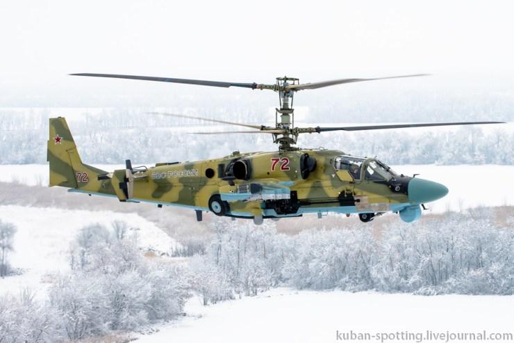 966006_original Летчики ЮВО осваивают недавно поступившие Ка-52