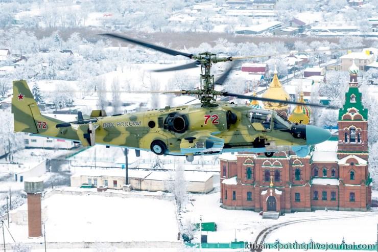 966151_original Летчики ЮВО осваивают недавно поступившие Ка-52