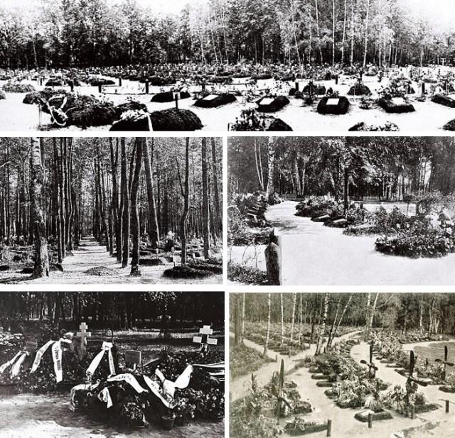 """Поминовение Юнкеров и Акция """"Бессмертный полк Братского кладбища героев Первой Мировой войны""""."""
