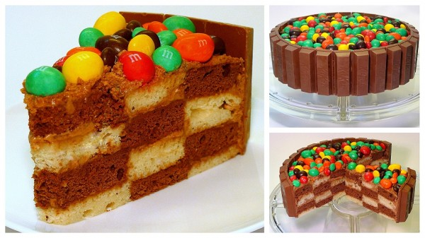 Шахматный торт Foodclub кулинарные рецепты с