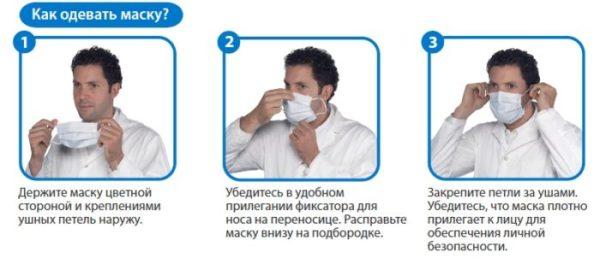 Как правильно носить медицинскую маску?: masterok ...