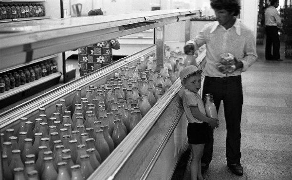 Максим Мирович: Последние годы СССР: фото магазинов