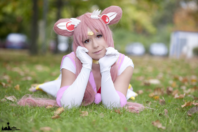Sailor Chibimoon cosplay