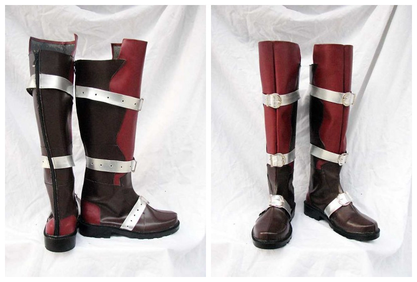 Final Fantasy Lightning Cosplay Boots