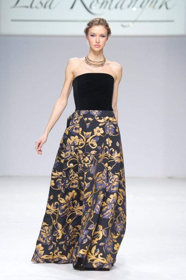 Вечерние платья в показе Lisa Romanyuk - Неделя Моды в ...
