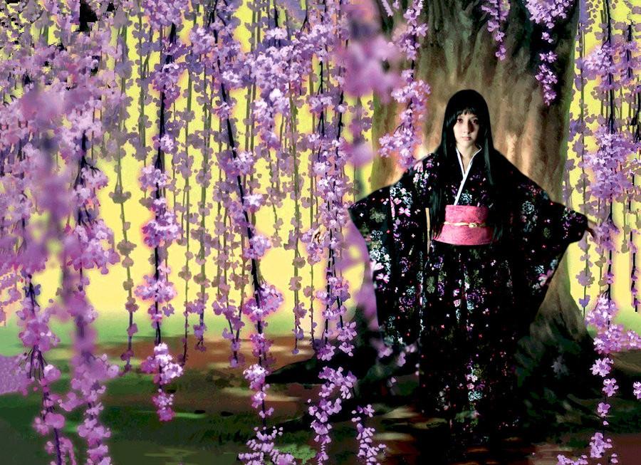 Jigoku Shoujo Ai Enma cosplay