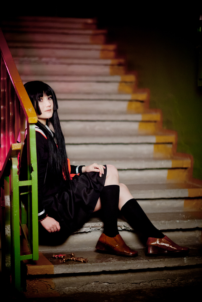 Jigoku Shoujo Ai Enma cosplay