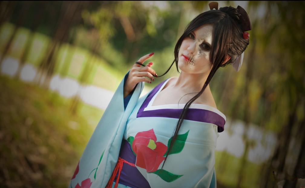Jigoku Shoujo Hone Onna cosplay3