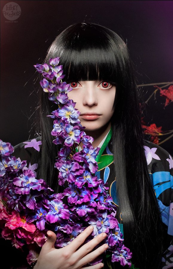 Hell Girl cosplay