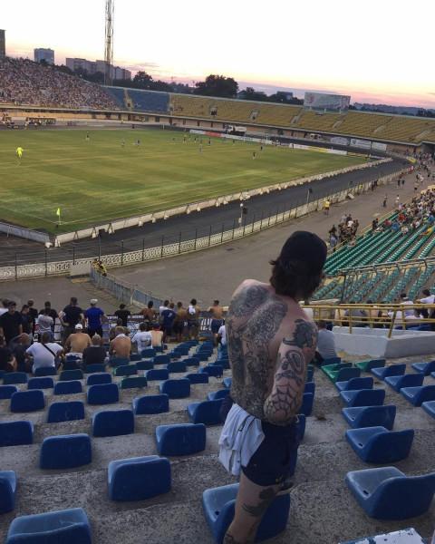 Фанаты ДинамоКиев образец quotзащитников Украины от низших