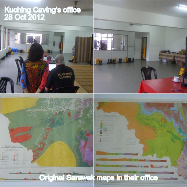 kuching caving's office