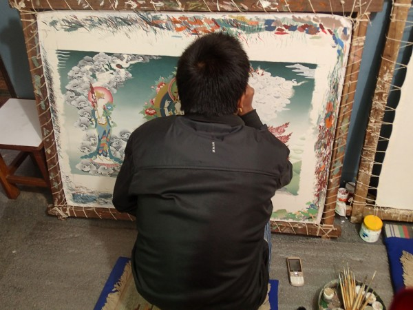 thanka painter