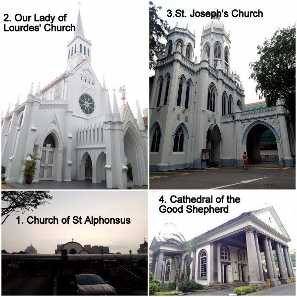 first four churches