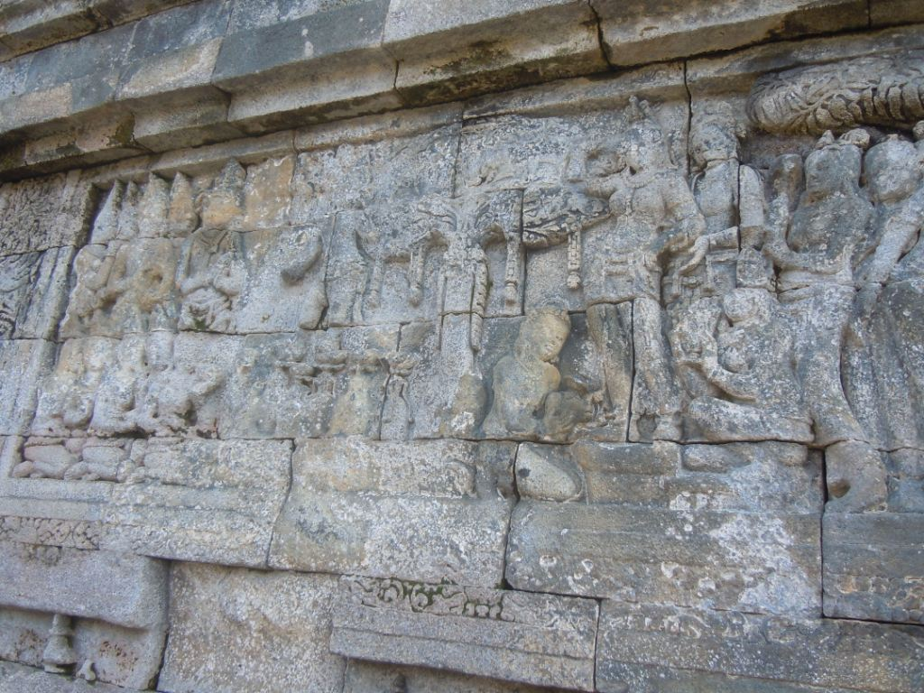 relief about sidharta's birth
