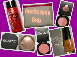 Aprils Ipsy bag