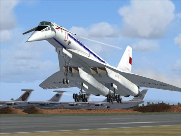Модель - Plasticart 1/100 Ту-144(Tu-144) и Ту-154(Tu-154 ...