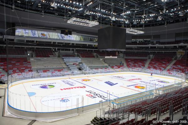 Олимпийские объекты. Сочи 2014. Дворец спорта «Большой ...