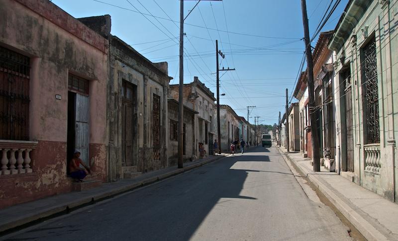 На улицах Матанзас, Куба