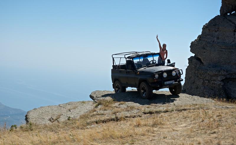 Экскурсия на джипах. Демерджи, Крым