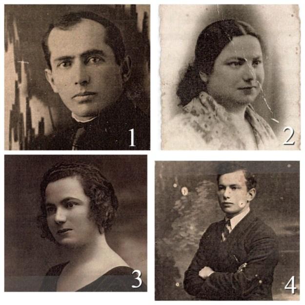 1. ШАЯ ГЕРШОН ЗЕЛІКОВ 1897-1942; 2. ХАЯ ЗЕЛІКОВ (HAYA SYNE SEINA ZELIKOV) 1906 -1942; 3. ІТА ЗЕЛІКОВ (ETA ITA ZELIKOV) 1895-1942; 4. ЯКАЎ ЗЕЛІКОВ (YAACOV ZELIG ZELIKOV) 1908-1942.