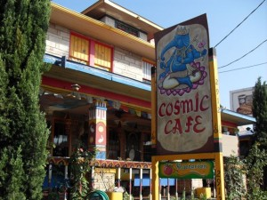 Cosmic Cafe.