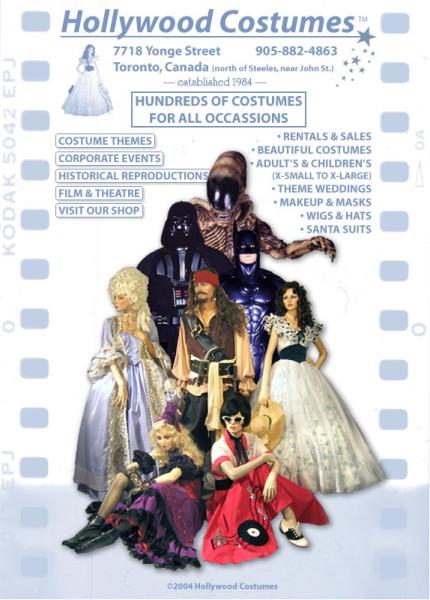 holywood costumes