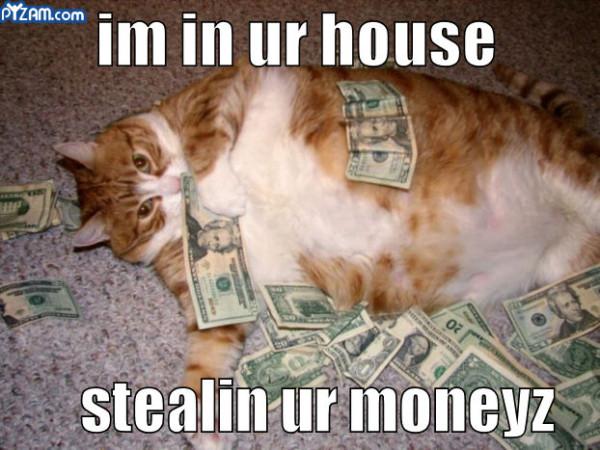 stealing