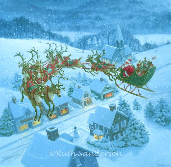 CS406_Santa-over-rooftops