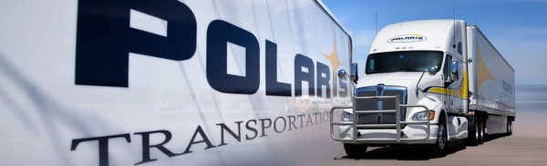Polaris transportation truck