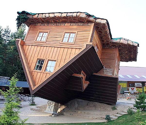 Upside-down House - Szymbark, Poland (3)