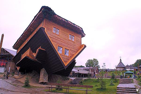 Upside-down House - Szymbark, Poland2