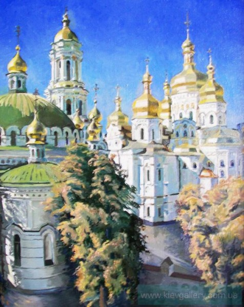 Goldem Domes of Lavra